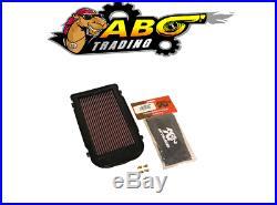 K&N Motorcycle Powerlid Airbox Cover For 87-06 YAMAHA YFZ350 BANSHEE YA-3502-T
