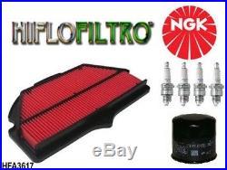 KIT REVISION Spark plug air filter oil Suzuki motorcycle GSX-R 600 750 2006/2011