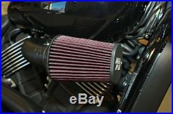 KN K&N Air Filter Black Air Intake Kit For Harley Davidson XG 500 750 63-1130