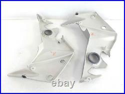 Kawasaki Z 750 2007 Fairing Right Left Air Filters Pegs Silver