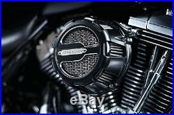 Kuryakyn Crusher Maverick Motorcycle Air Cleaner Black 9883