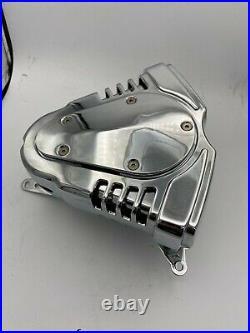 Kuryakyn Twin Velocity Chrome Motorcycle Air Cleaner Yamaha Roadstar 1600 K-9850