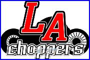 LA Choppers LA-2396-03B Air Cleaner Assembly, Spanish Cross Cover Black Ha