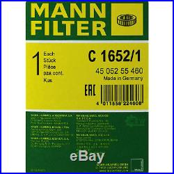 MANN-FILTER PAKET Luft Öl Kraftstoff Audi A8 4E 3.0 TDI quattro