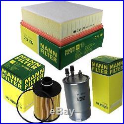 MANN-Filter Inspektions Set Ölfilter Luftfilter Kraftstofffilter MOLK-9732446