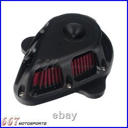Motorcycle Air Cleaner Intake Filter Kit For Harley Touring 2017-UP Softail 2018