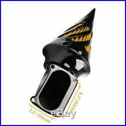 Motorcycle Black Cone Spike Air Cleaner Kits Intake Filter For Suzuki Boulevard