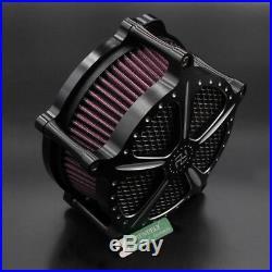 Motorcycle CNC Air Cleaner Intake Filter For Harley Cross Bones Rocker Softail