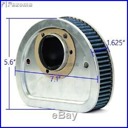 Motorcycle Cotton Gauze Air Filter Cleaner For Harley FXSB Breakout 103CI-All