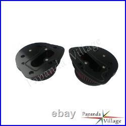 Motorcycle Dual Air Cleaner Intaked Filter Kit For Suzuki M109R M109RZ M109R2