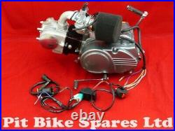 New GN50 4 Speed Manual Pit Bike Engine, Carburettor, Air Filter & Loom GN50cc