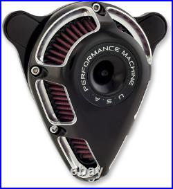 Performance Machine Jet Motorcycle Air Filter 93-17 Harley Dyna Touring Softail