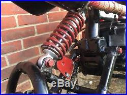 Pit Bike 125cc NEW wheels, tyres, brake, plastics, seat, Sprocket, air filter, tank