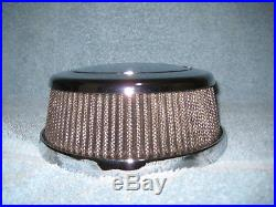 Pre-Owned Indian Motorcycle Chrome Thunderstroke Hi-Flow Air Cleaner 2880654-156