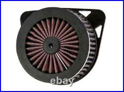 RICKS MOTORCYCLES Air Cleaner Assembly Kit, Good Guys 2 17-19 Harley Touring
