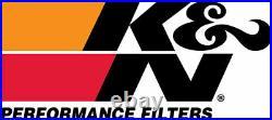 RK-3918 K&N Air Intake Kit KAWASAKI VN2000 VULCAN 04-07 BALL GROOVED KN Power