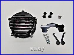 RSD Venturi Nostalgia Air Cleaner Contrast Cut 0206-2071-BH