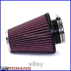 Red Motorcycle Air Filter Element Cotton Gauze Fit Harley Davidson 2016 New