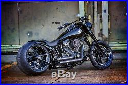 Ricks Harley Softail (103Cui) ab 2016 H. Lector Luftfilter Billet-Alu schwarz