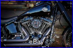 Ricks Harley Softail 1993-2015 H. Lector Luftfilter Billet-Alu schwarz
