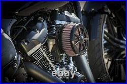 Ricks Harley Sportster EFI 2007 Seven Sins Luftfilter Billet-Alu schwarz