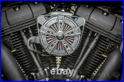 Ricks Harley Sportster EFI ab 2007 Rodder Luftfilter Billet-Alu schwarz