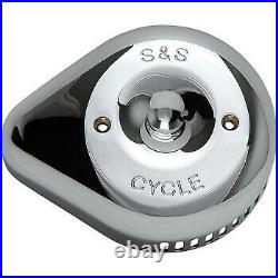 S&S Cycle Air Cleaner Cover Slasher Chrome 170-0532
