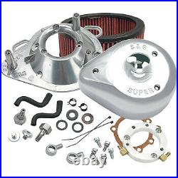S&S Cycle Air Cleaner Tear-Drop 01-17 Chrome 170-0303B