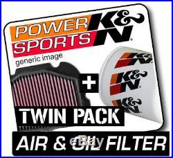 SUZUKI GSXR1100 1118 1990-1992 K&N KN Air & Oil Filters Twin Pack! Motorcycle