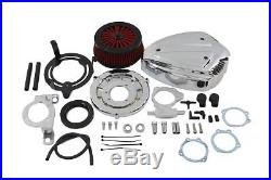 Siren Air Cleaner Assembly Chrome, for Harley Davidson motorcycles, by V-Twin