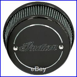 Thunder Stroke High Flow Air Cleaner- Black by Indian Motorcycle 2880654-266