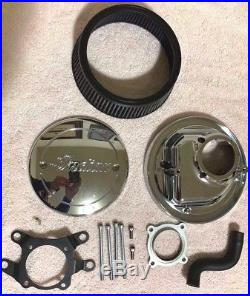 Used Indian Motorcycle Chrome Thunder Stroke High Flow Air Cleaner 2880654-156