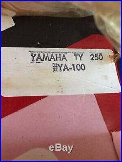VTG NOS K&N YA-100 Yamaha TY250 TY 250 Trial Bike Motorcycle AIR FILTER USA MADE