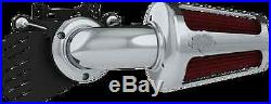 Vance & Hines Chrome V02 Motorcycle Air Cleaner Kit 99-17 Harley Touring Dyna