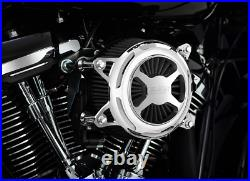 Vance & Hines Chrome VO2X Motorcycle Air Filter Cleaner 18-20 Harley Softail