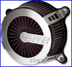 Vance & Hines V02 Air Intake Brushed 70066