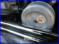 Vintage Webco Remote Air Filter / Unit, Triumph / British Motorcycles