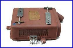 Vokes Tank Top BSA M20 Air Filter Unit british vintage motorcycle airfilter GEc