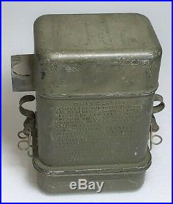 WWII US Army Harley Davidson WLA Motorcycle Oakes Oil Bath Air Filter. NOS