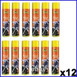 X12 Putoline Foam Air Filter Oil Motocross Mx Enduro Bike Handy Aerosol 600ml